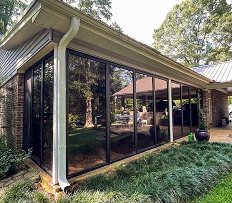 Glass Sunroom Enclosures