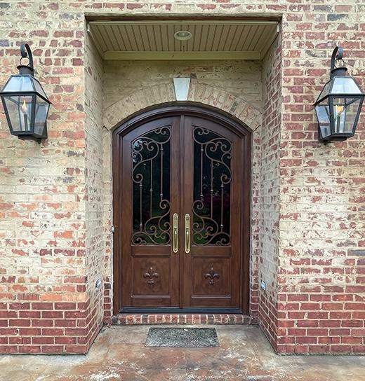Custom Iron Entry Doors