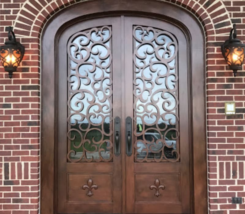 Wrought Iron Doors